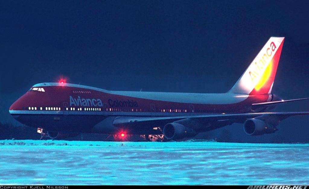 Avianca a Estocolmo. El vuelo a recibir el Nobel de GarcíaMárquez