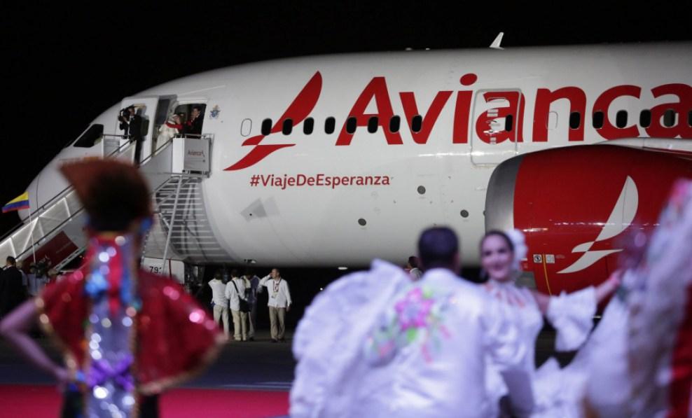 Los aviones del Papa para sus vuelosinternacionales