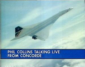 Gran cobertura mediática tuvo el vuelo del Concorde de British Airways llevando a Phil Collins