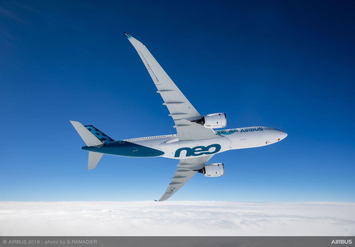 Primer vuelo del A330-800neo, la solución a un problemainexistente