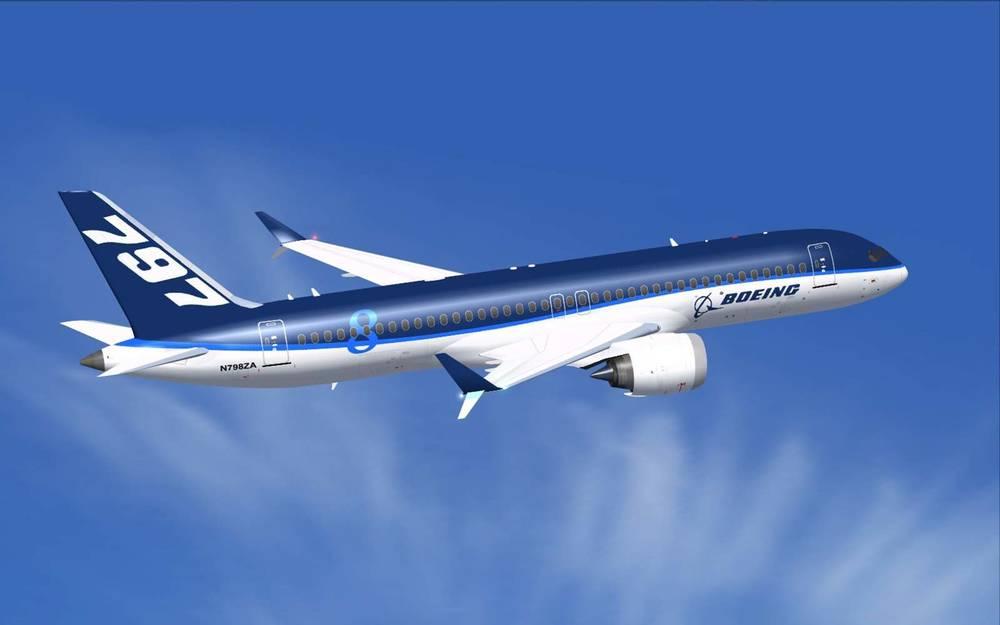 Empieza a tomar forma el que sería el nuevo avión deBoeing