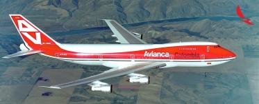B747 N747AV